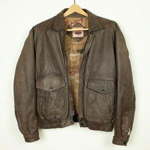 Vintage Leather Bomber size 40